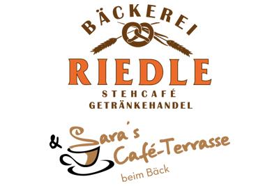 Bäckerei Riedle - Saras Café-Terrasse